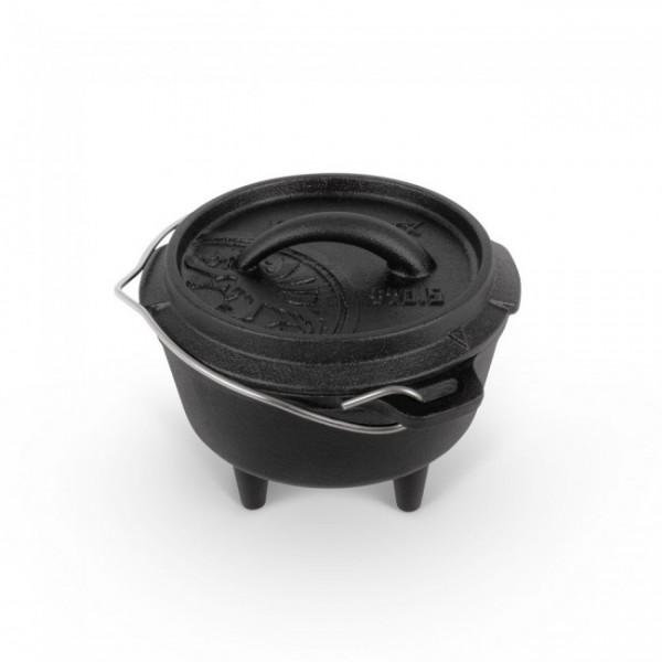 Petromax Feuertopf ft0.5  mit Standfüßen - Volumen 0,5 l - ft0.5