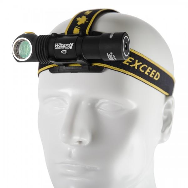 Armytek Wizard Magnet USB Mehrzweckleuchte - Stirnlampe (warmes Licht) - F05401SW