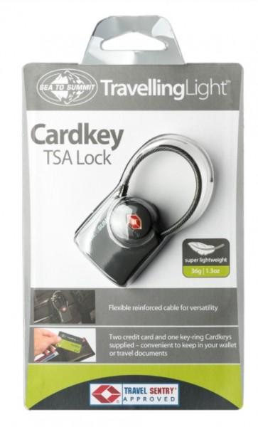 Sea to Summit Cardkey TSA Padlock  Sicherheitsschloss Reiseschloss