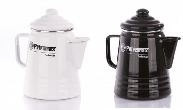 Petromax Perkomax Perkolator Emaille Weiß oder Schwarz