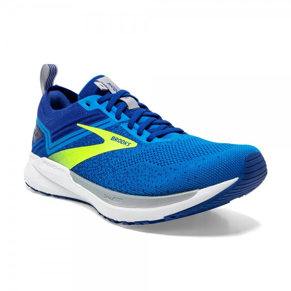 Brooks Ricochet 3 Herren Laufschuh Lightweight - 110361 1D 451 Blue/Nightlife/Alloy