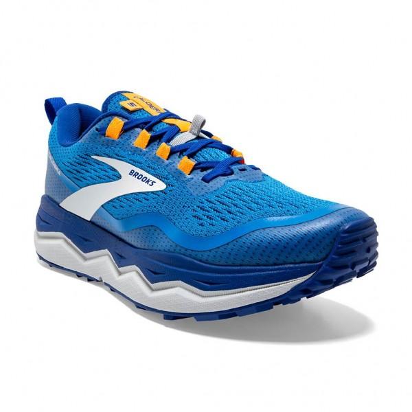 Brooks Caldera 5 Herren Laufschuh Trail - 110354 1D 494 Farbe Blue/Indigo/Orange