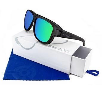 ActiveSol Überzieh-Sonnenbrille  Flieger Pilotenbrille El Aviador UV400 Schutz polarisiert  - Grey Mirror