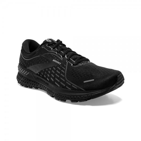 Brooks Adrenaline GTS 21 Herren Laufschuh Stabilität - 110349 1D 020 Black/Black/Ebony