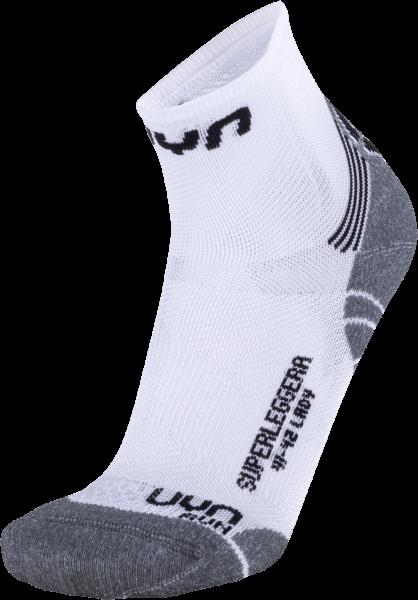 UYN Run Superleggera kurze Damen Laufsocken S100077 W068 - Weiß