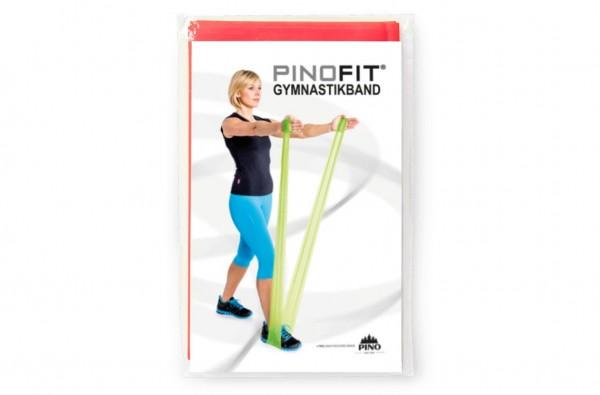 PINOFIT® Gymnastikband Coral / Rot - Widerstand mittel - Länge 2 Meter