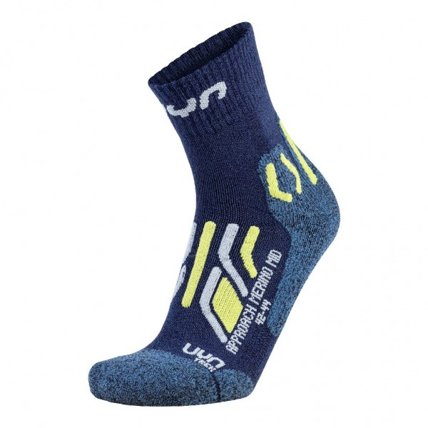 UYN Herren Trecking Approach Merino Mid Socken - S100202