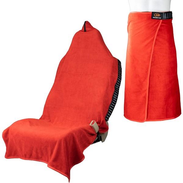 Orange Mud Transition Wrap 2.0 - Sporthandtuch Autositzbezug Umziehhilfe - Salsa Red