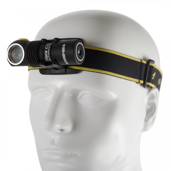 Armytek Tiara C1 Magnet USB Mehrzwecklampe Stirnlampe (kaltes Licht) - F05201SC