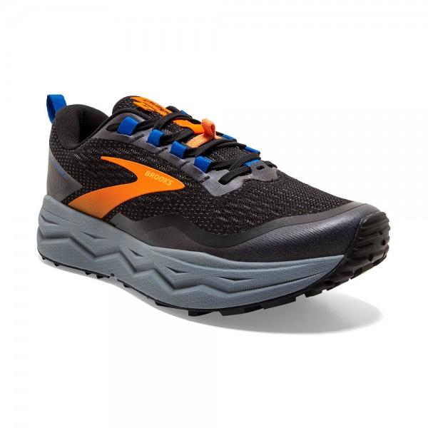 Brooks Caldera 5 Herren Laufschuh Trail - 110354 1D 041 Farbe Black/Orange/Blue