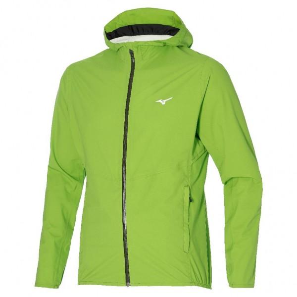 Mizuno Men 20K ER Jacket  - wasserdichte Laufjacke - J2GE004033 Lime Green