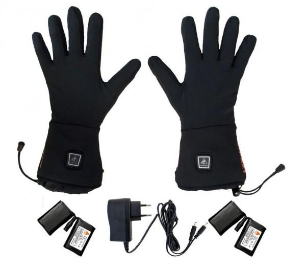 ALPENHEAT beheizte Handschuhe FIRE-GLOVELINER  Unterziehhandschuh - Schwarz AG1