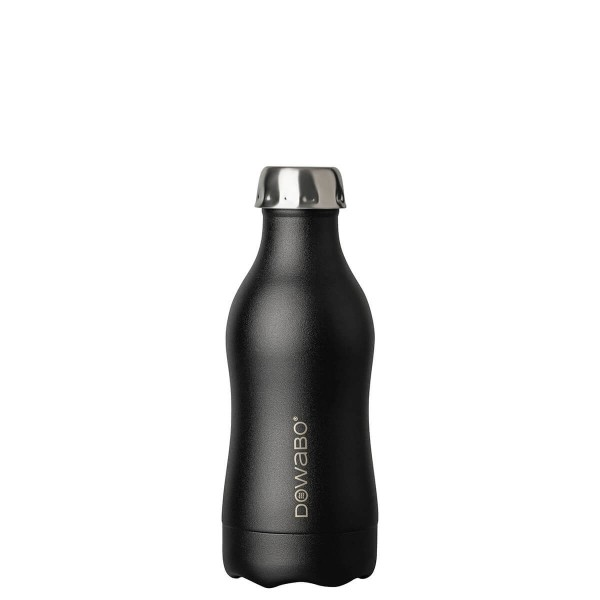DOWABO Isolierflasche - Edelstahl Flasche - 350 ml Cocktail Collection Black Sun - DO-035-coc-bla