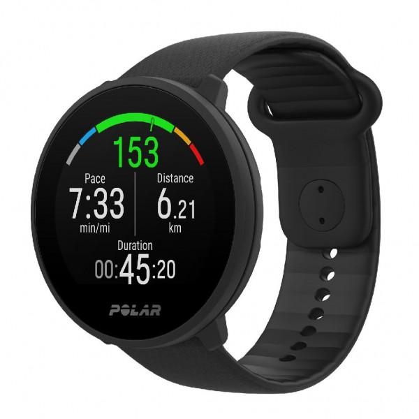 Polar Unite - Fitness Uhr mit optischer Pulsmessung - Farbe Black 90081801