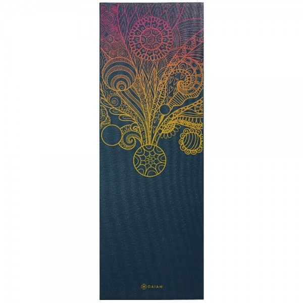 Gaiam Yoga Matte Mat Vivid Zest 4mm - 63414