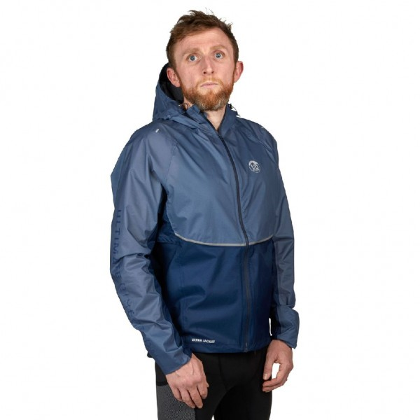 Ultimate Direction Men's Ultra Jacket - Regenjacke, Laufjacke - 82464521-0953 Navy Blue