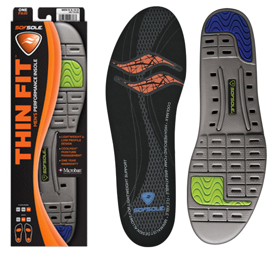 Sofsole Thin Fit Einlegesohle Men