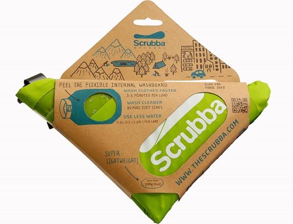 Scrubba Wash Bag mini - Reisewaschmaschine, Waschsack Grün