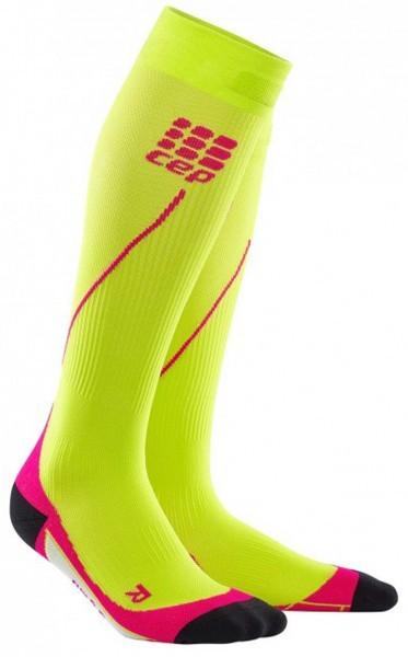 CEP Women Progressive+ Run Socks 2.0 - lime-pink